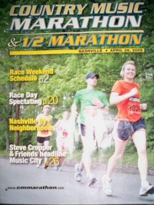 Country Music Marathon keepsake