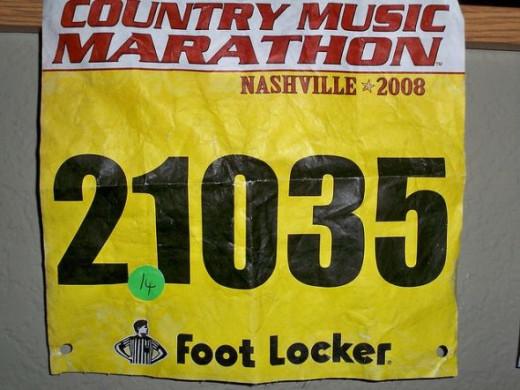 Marathon keepsake