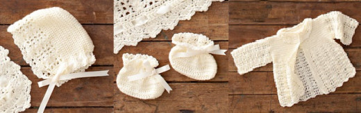 free crochet pattern baby sets