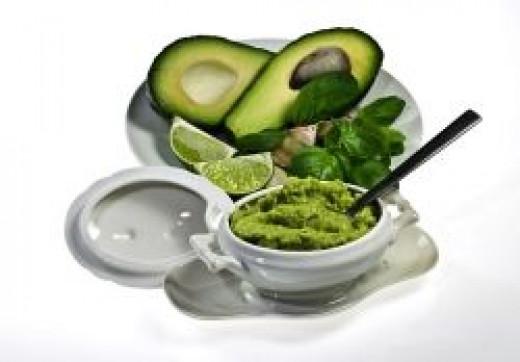 Use avacado or guacamole instead of cheese