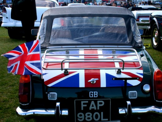 Patriotic MG Midget