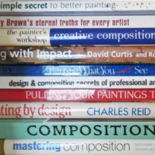 some of my books about composition and design