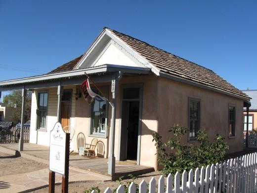 Wyatt Earp Home in Tombstone, Arizona