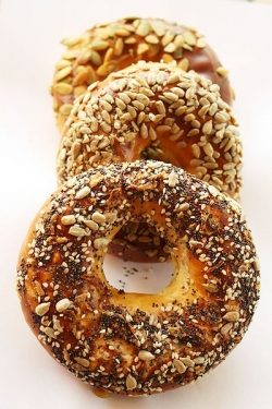 Behold, the versatile bagel