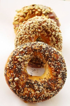 The World's Best Bagel Sandwich, Bar None