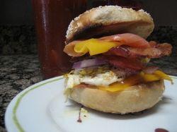 Bagel Sandwich extravaganza