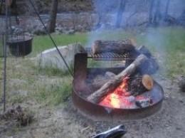 Camping Outside Yosemite