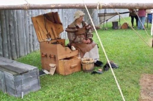 A shoe-maker