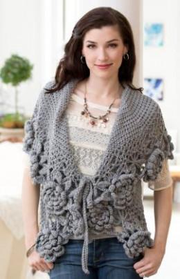 free crochet pattern womans cardigan