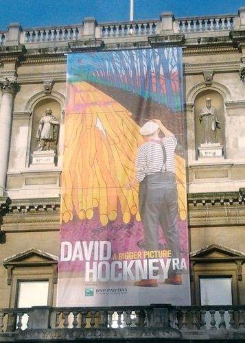 David Hockney at Burlington House, Royal Academy of Arts