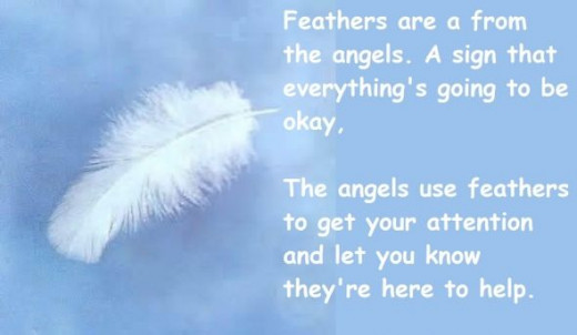 Quotes About Feathers And Angels Angels And White Feathers