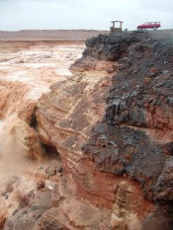 Chocolate Falls in Arizona: Photographing a Flash Flood on the Little Colorado River