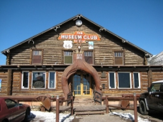 The Museum Club on Old Route 66 in east Flagstaff