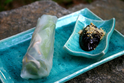 Vietnamese Fresh Vegetable Spring Rolls