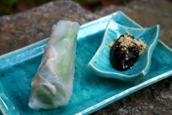 Vietnamese Fresh Vegetable Spring Rolls