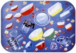 Pyrex Illustration from and Ad in 1952