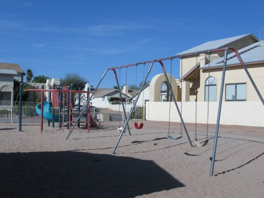 Playgrounds also paid for with Homeowners Association Dues