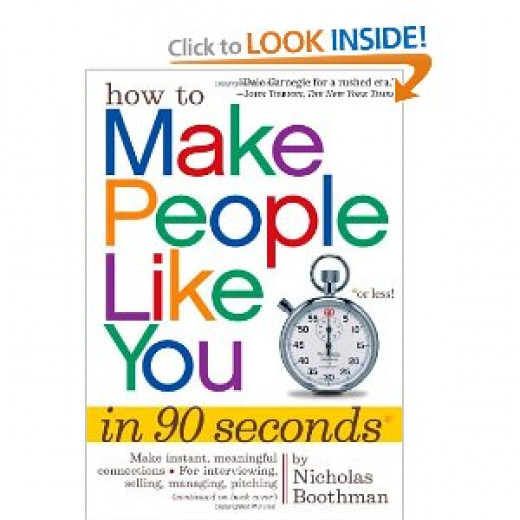 How to Make People Like You in 90 Seconds - Gift for Difficult People