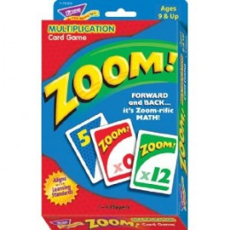 Zoom Multiplication Game Cards