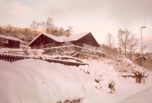 My beautiful home covered in snow!