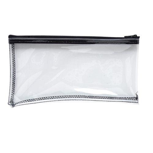 Plastic Zipper Wallet