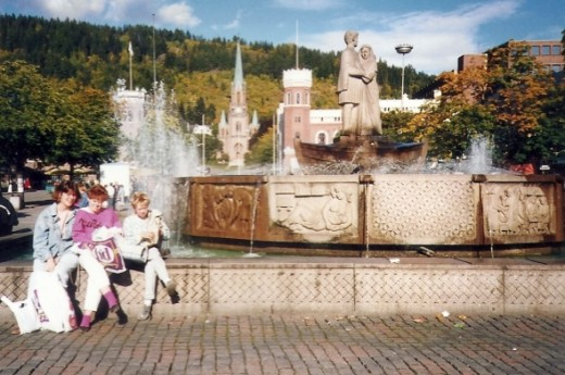 Drammen, Norway (near Oslo), where one of my host sisters lived.