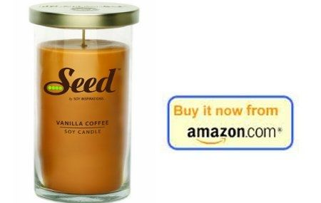 Soy coffee candle