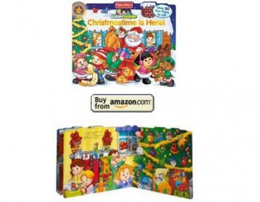 little people christmas book