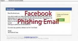 Email Fraud on Facebook