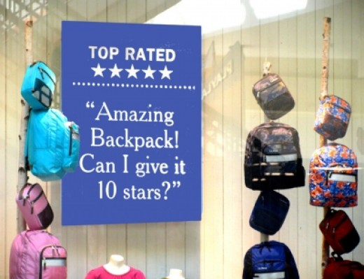 Be selective about what backpack you buy. It's not just a pack, it's your child's back!