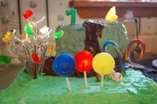 My Willy Wonka Cake