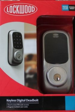 Lockwood Keyless Digital Deadbolt