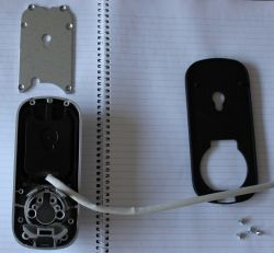 Lockwood digital deadlock with screen plate removed