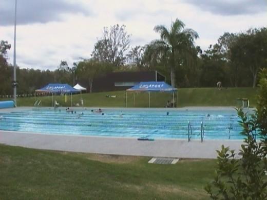 UQ Swimming pool St Lucia