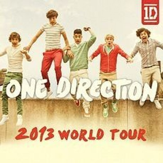 one direction tour 2013