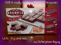 Perfect Brownie Pan Review