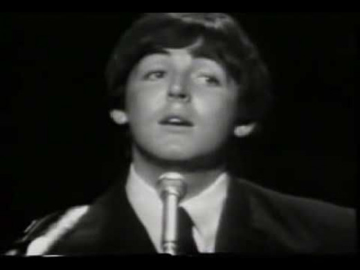 The first time Beatle Paul McCartney sings it on TV.