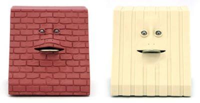 Brick & Stripes Face Banks