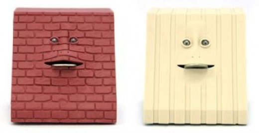 Brick & Stripes Face Banks