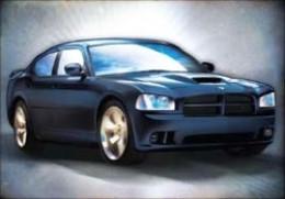 '06 Charger SRT - Black