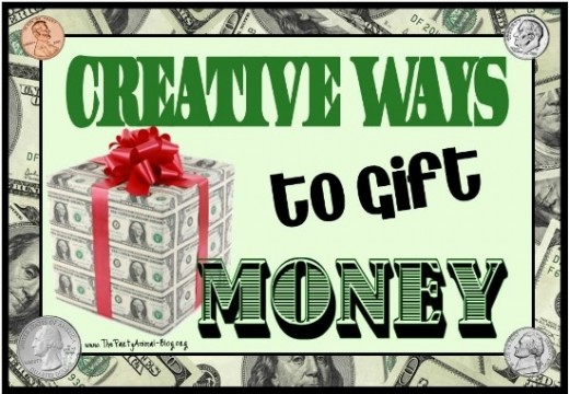 Creative ways to gift cash