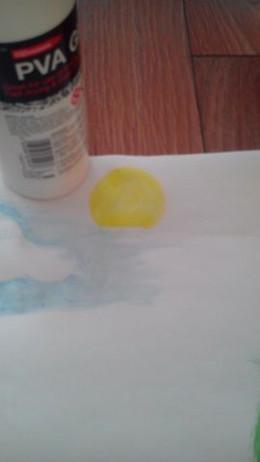 Adding the sun