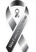 skin cancer ribbon