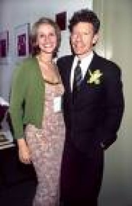 Julia with Lyle Lovett