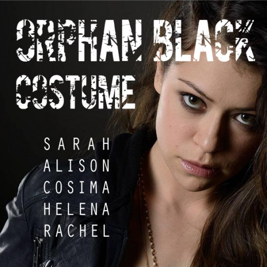 My Orphan Black Costume Guide main image. I wanted the names to be reminiscent of a genetic code.