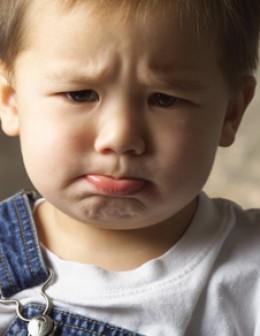 Pouting child