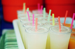 Prepare the juice drinks that you will consume for the whole day. (Photo courtesy by calvina: from Flickr)