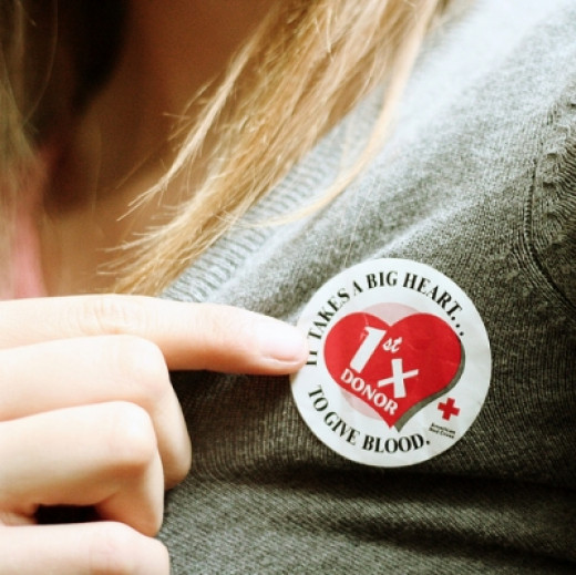 Give blood, the gift of life.