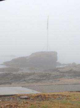 Fog on the Connecticut Shore