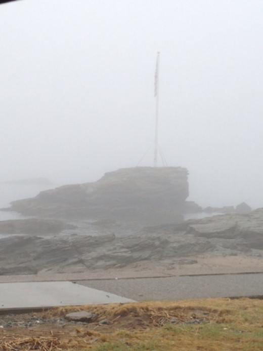 Fog on the Connecticut Shore